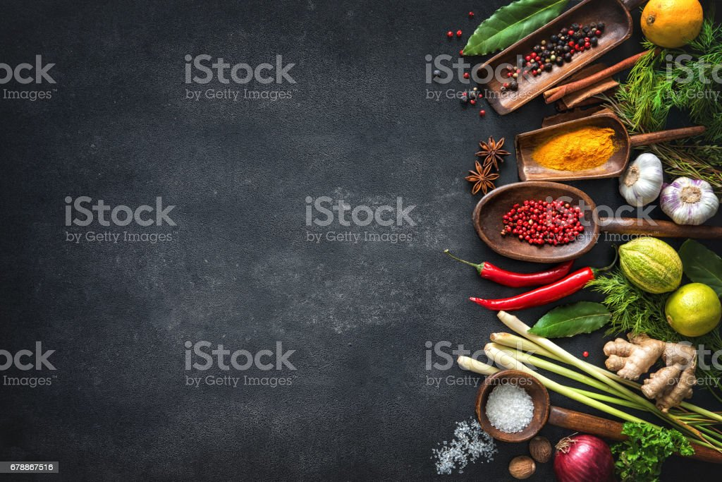 Various herbs and spices – Foto