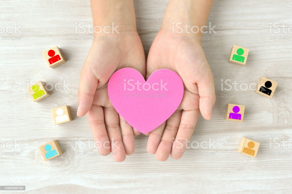 Various human identities and good relationships images Various human identities and good relationships images Affectionate Stock Photo