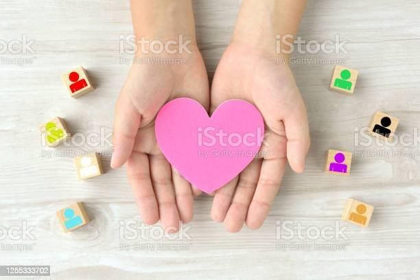 Various Human Identities And Good Relationships Images Stock Photo - Download Image Now