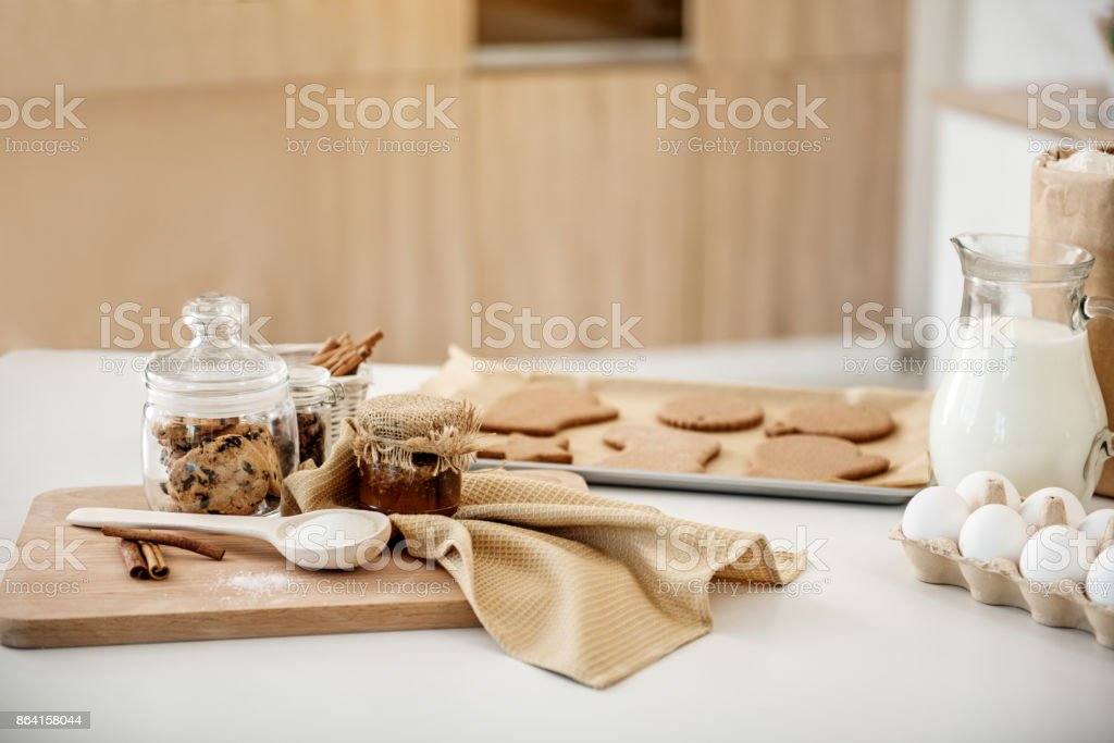 Various ingredients for baking pastry royalty-free stock photo