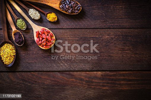 istock Various kinds of superfoods 1173102193