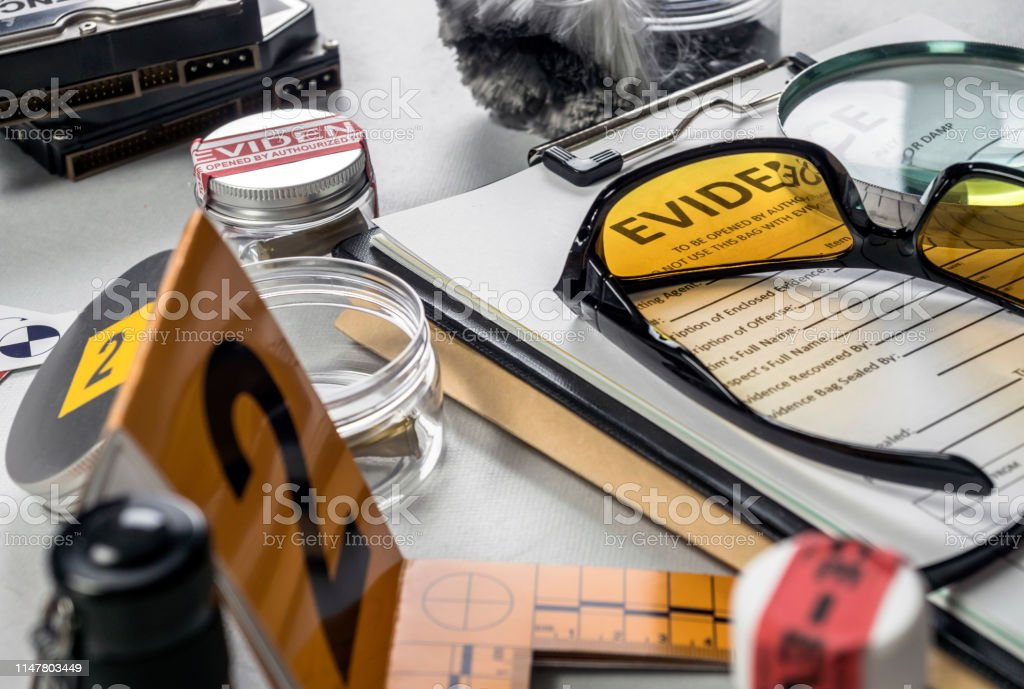 Various Laboratory Tests Forensic Equipment Conceptual Image Stock Photo Download Image Now Istock