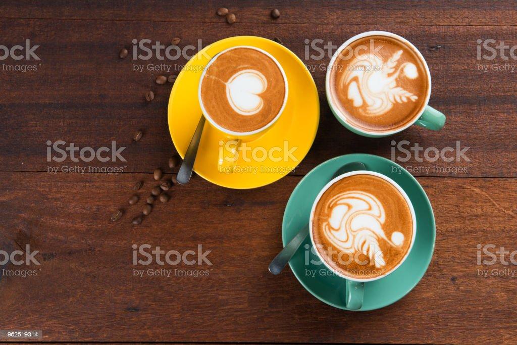 various latte - Royalty-free Breakfast Stock Photo