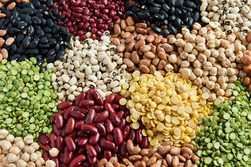 Various Legumes - zdjęcia stockowe i więcej obrazów