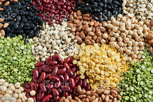Minerals in nuts and pulses