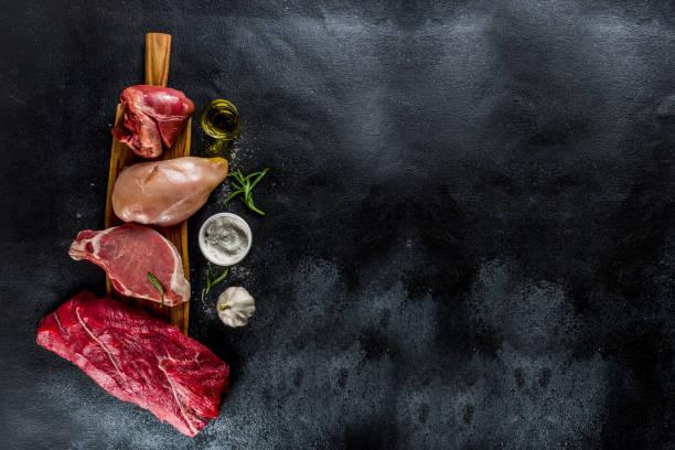 Verschiedene Fleischsorten – Foto