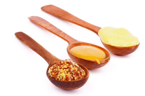 Various Mustard stock photo