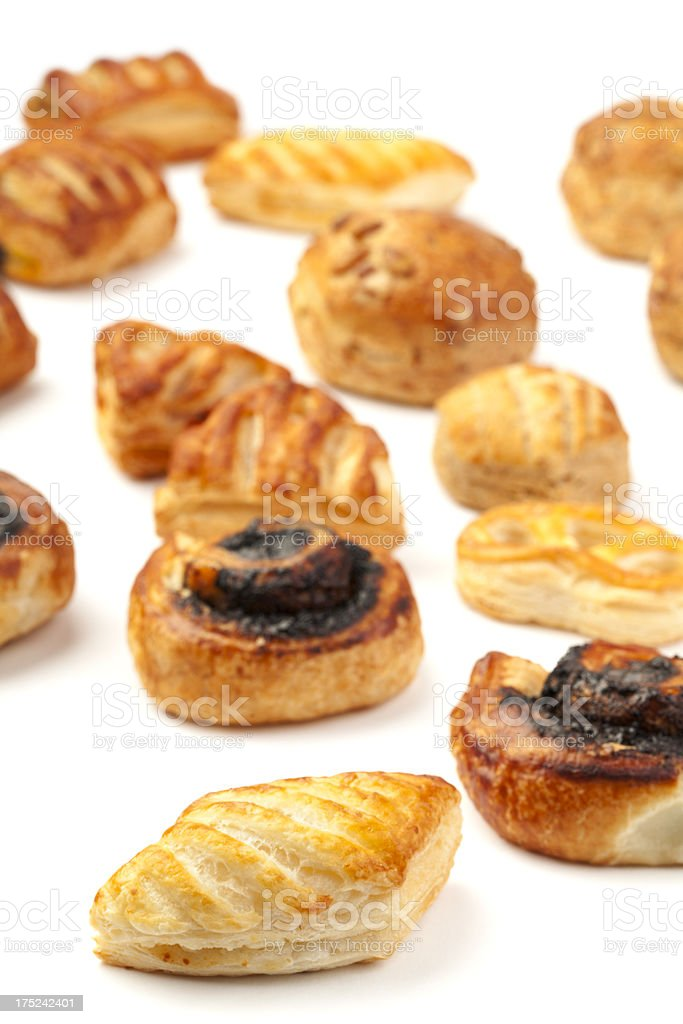 Various Pastry Products royalty-free stock photo