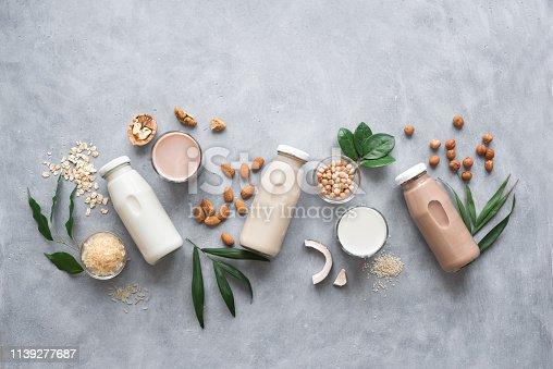 istock Various Plant Based Milk 1139277687