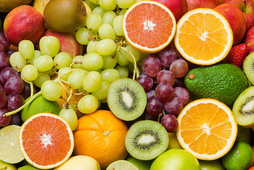 istock Various ripe fruits for eating healthy 636877252