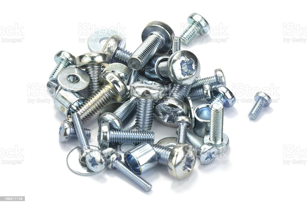 various screws royalty-free stock photo