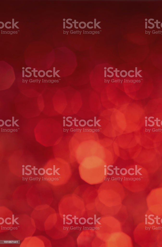 Various shades of red lights blurred background stock photo