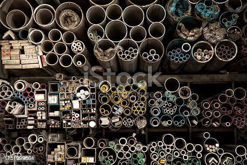 istock various shape industrial steel products of metal profiles and tubes 1151099864
