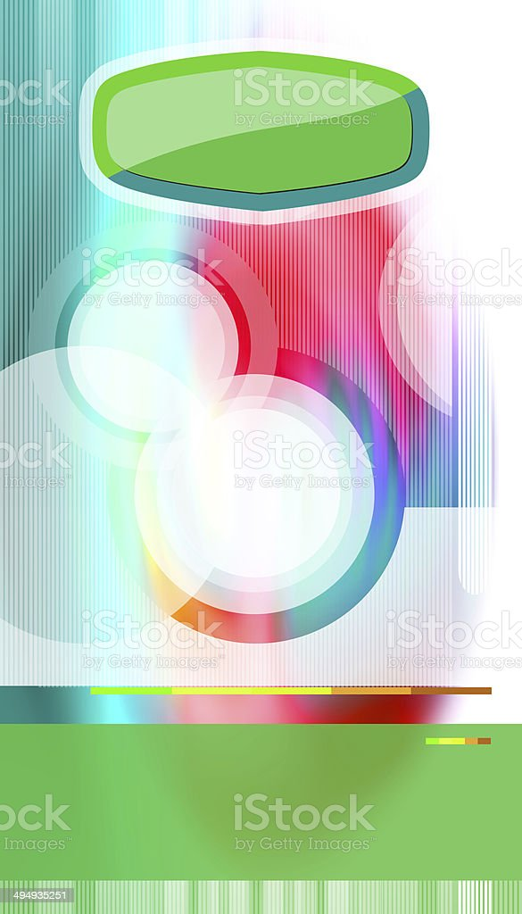 Various shapes on colorful background royalty-free stock photo