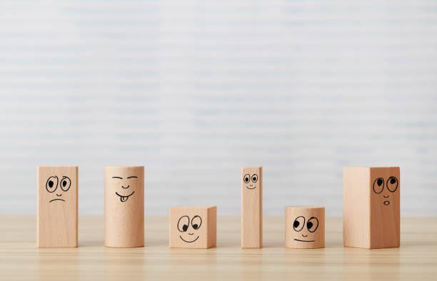 Verschiedene Smiley-Gesichter – Foto