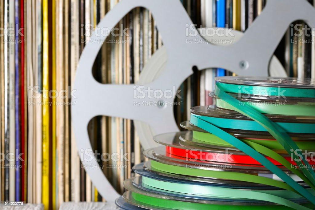Various sound media stock photo