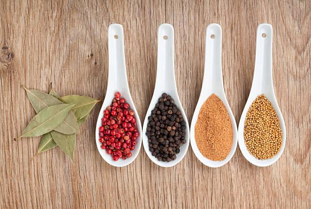 Diverses épices sélection - Photo