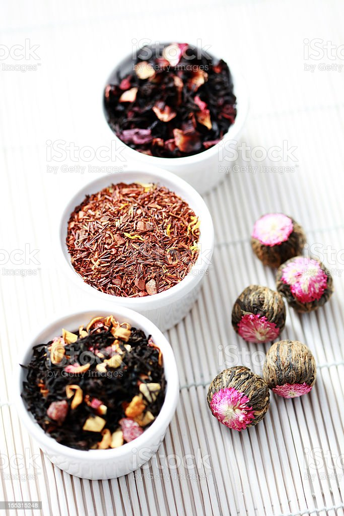 various tea royalty-free stock photo