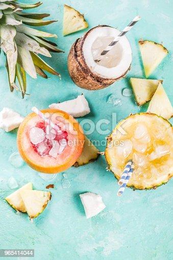 Various Tropical Cocktails - Stockowe zdjęcia i więcej obrazów Alkohol