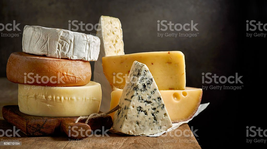 Différents types de fromage  - Photo