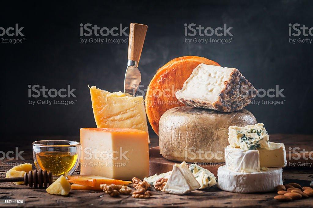 various types of cheese - Стоковые фото Без людей роялти-фри