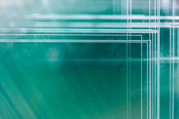 various types of glass panels stacked on shelves - lepro stock pictures, royalty-free photos & images