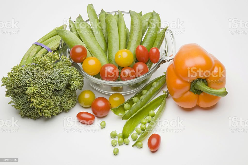Various Vegetables royalty-free stock photo