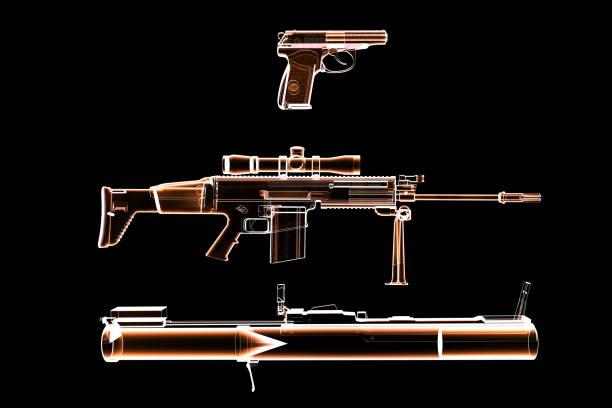 Varias armas - foto de stock