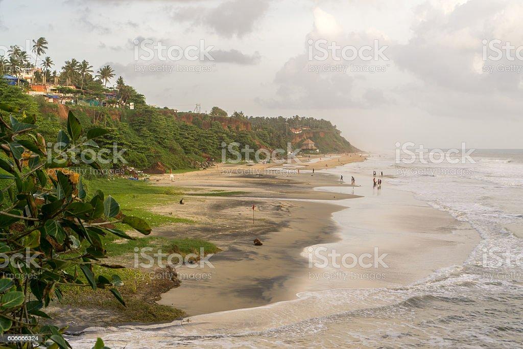Varkala (Kerala), India stock photo