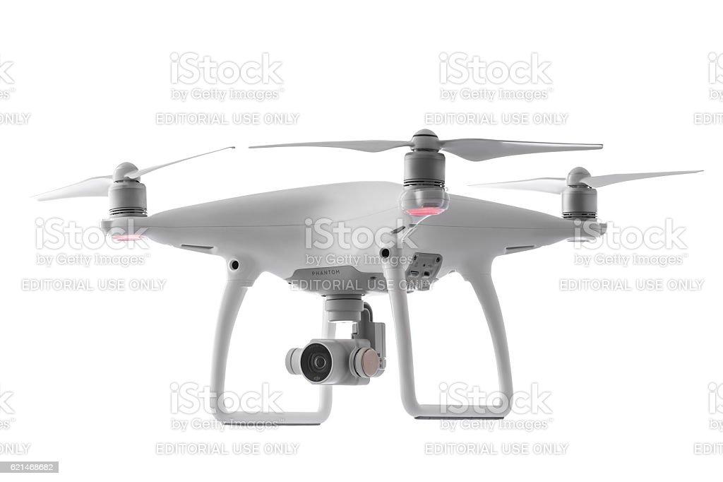 Varna,Bulgaria - October 17,2016: Drone quadcopter Dji Phantom
