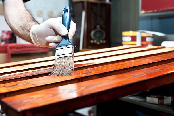 Lack Holz Bretter – Foto