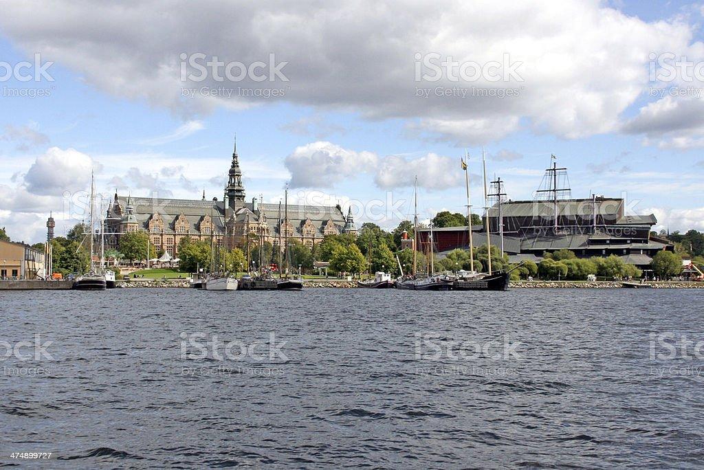 Vasa museum in Stockholm, Sweden. stock photo