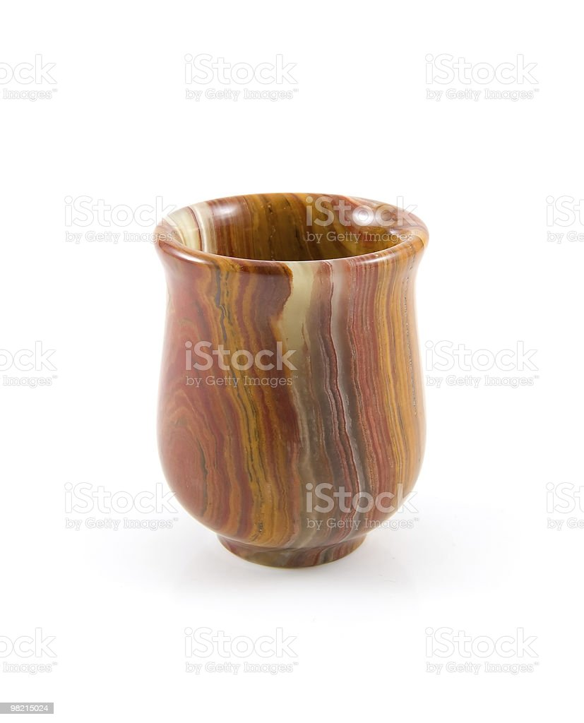 vase from nephrite royalty-free stock photo