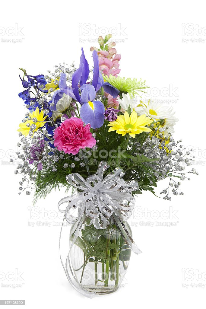Vase of Flowers royalty-free stock photo