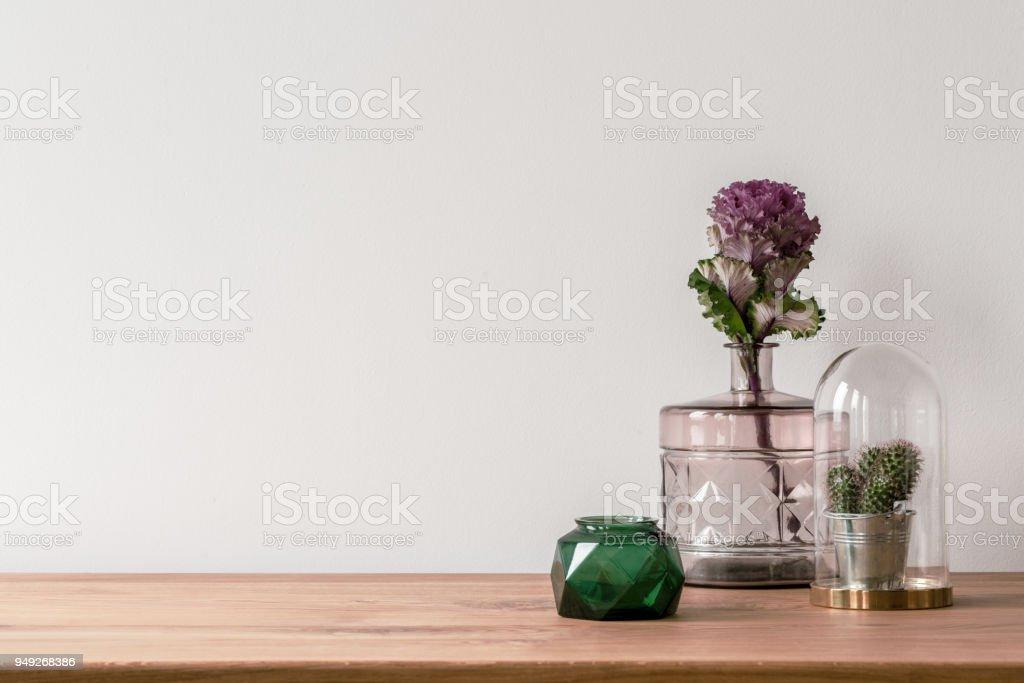 Vase on empty white background royalty-free stock photo