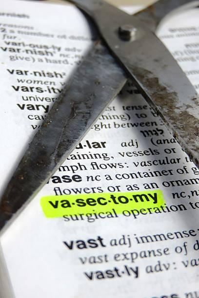 vasectomia-definição - vasectomia - fotografias e filmes do acervo