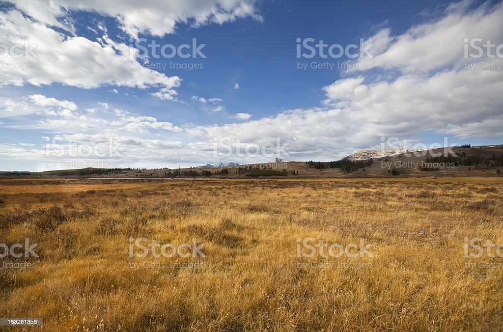 Vast and open landscape royalty-free stock photo