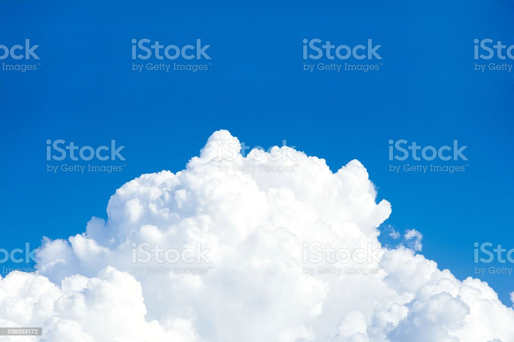 vast blue sky and clouds sky stock photo