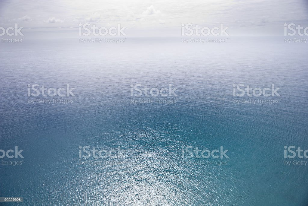 Vast Ocean royalty-free stock photo