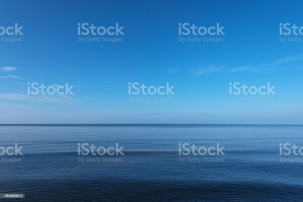 Vast sea stock photo