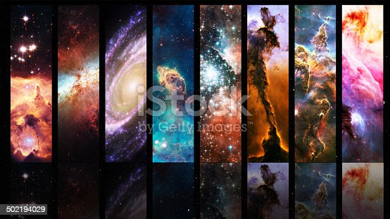 istock Vastness of the universe arrayed in colour 502194029