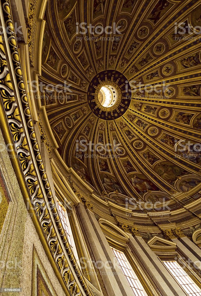 vatican church royalty-free stock photo