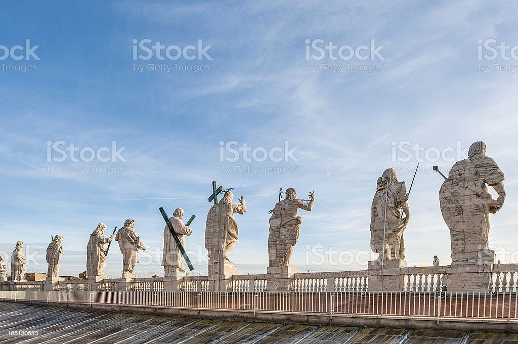 Vatican City in Rome, Italy stock photo