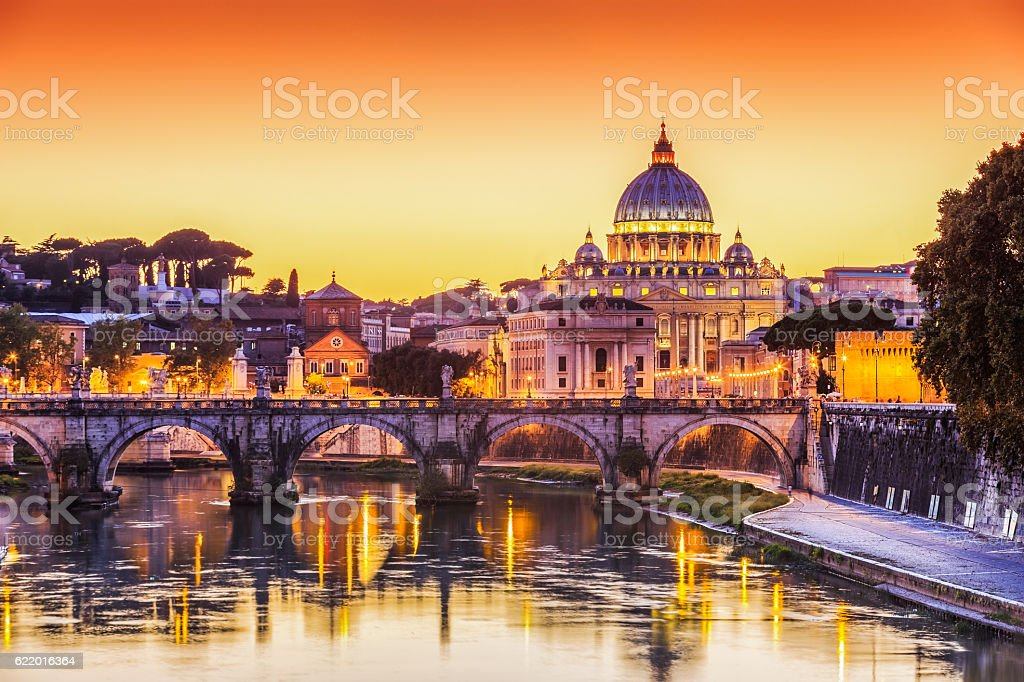 Vatican City, Rome. Italy stock photo