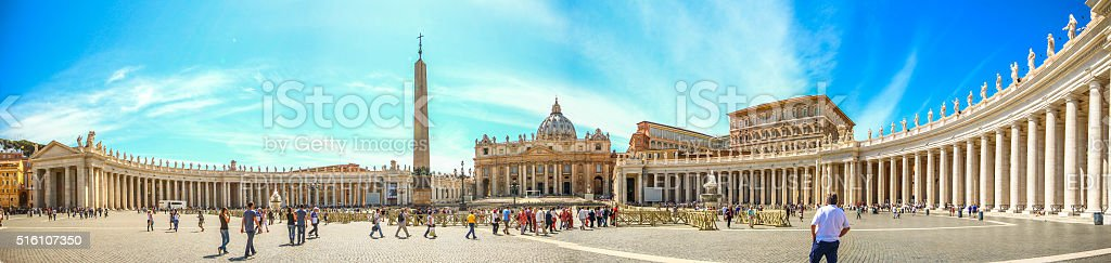 Vatican, Italy - May 07, 2015 - Vatican city stock photo