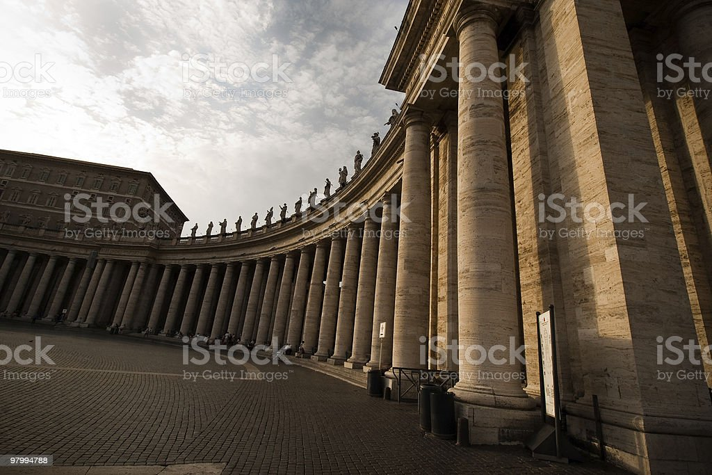 vatican square royalty-free stock photo