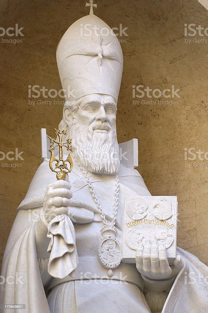 Vatican statue royalty-free stock photo