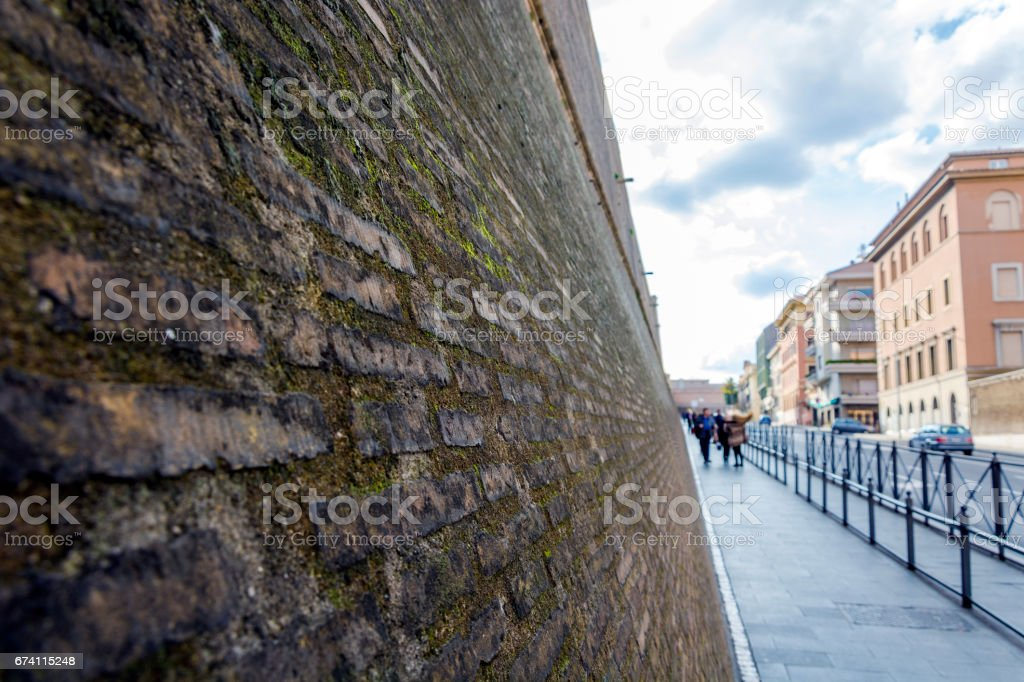 Vatican walls royalty-free stock photo