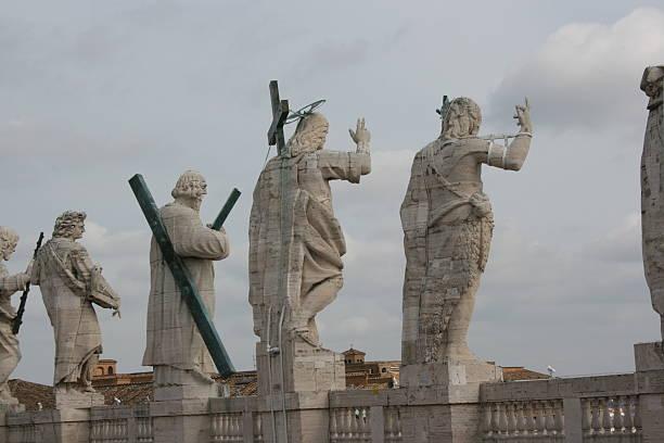 vaticans's statue - pope francis zdjęcia i obrazy z banku zdjęć