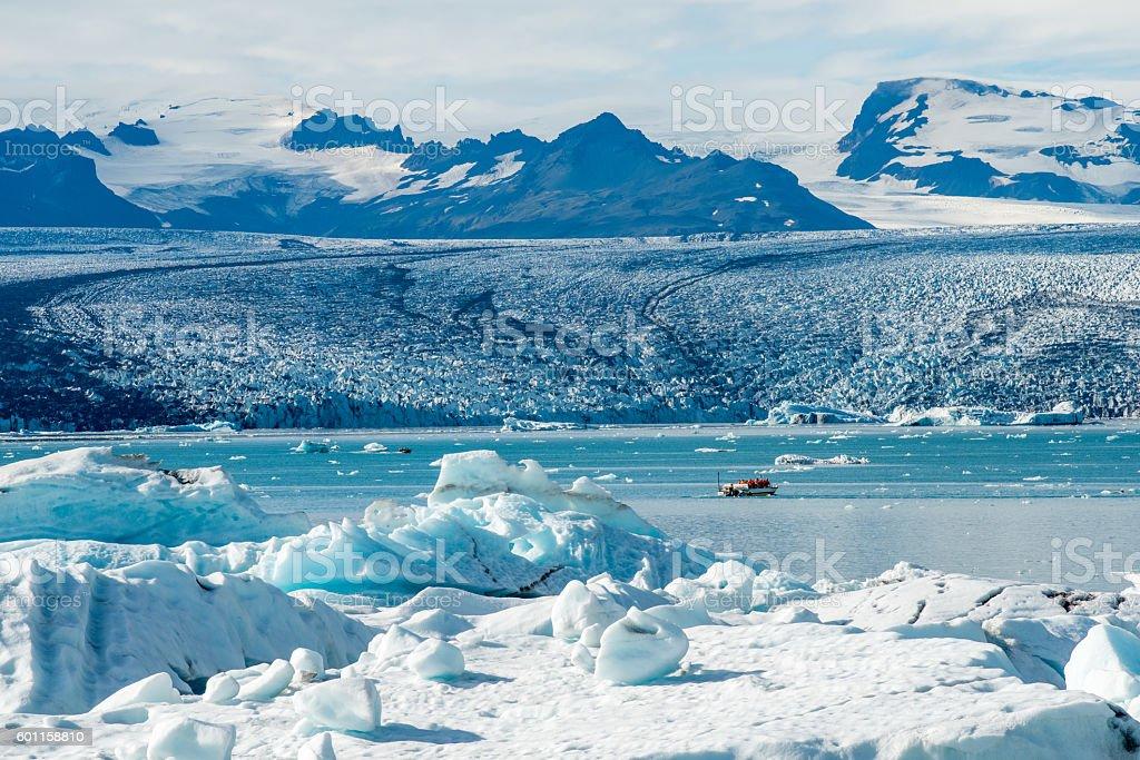 Vatnajökull glacier, Iceland stock photo